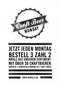 Craft Bier Montag